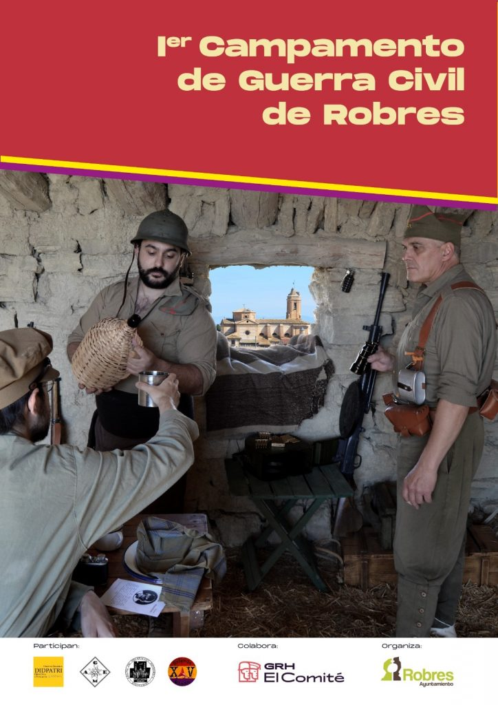 Campamento Guerra Civil Robres