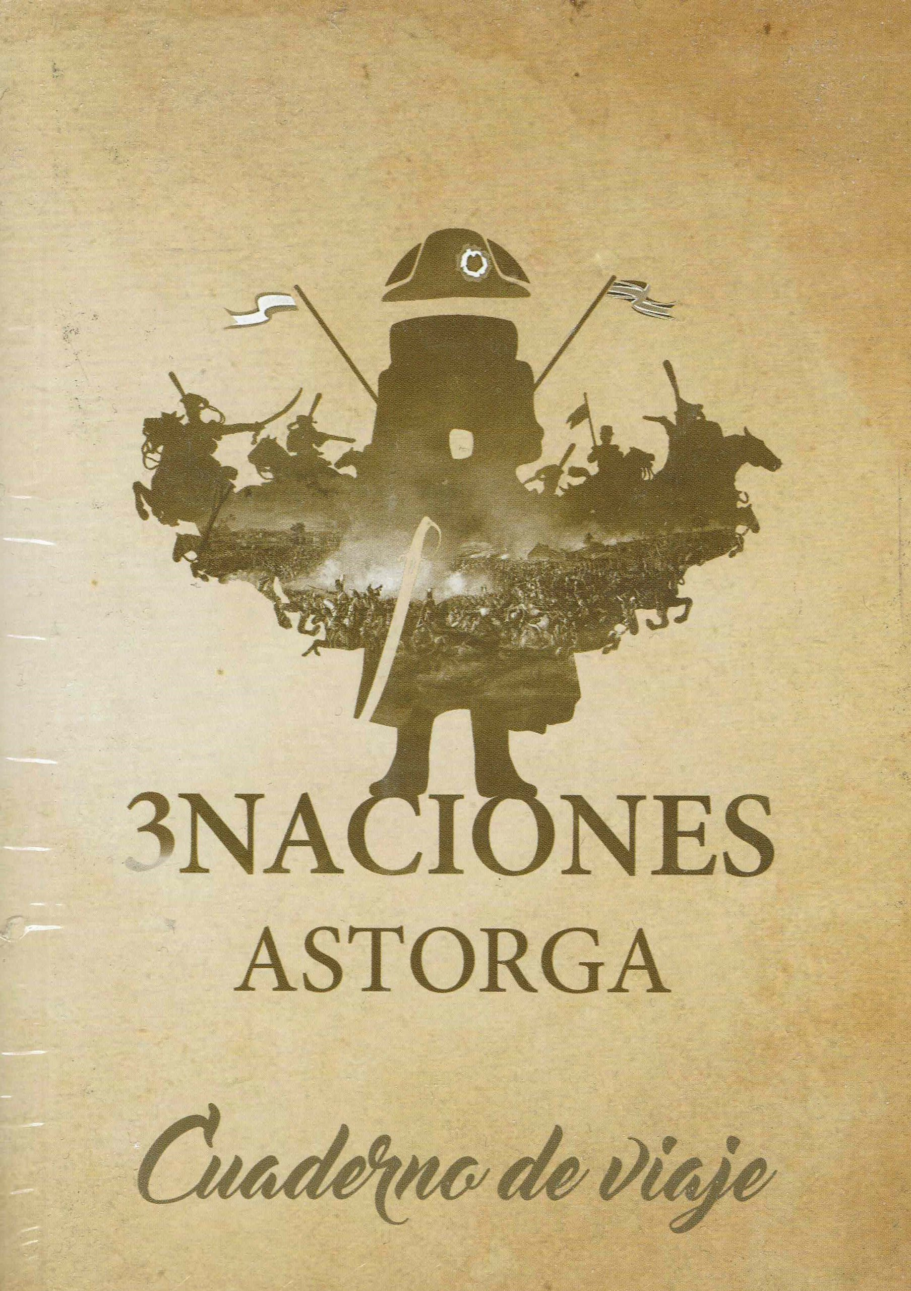 Astorga 3 Naciones Cuaderno de viaje